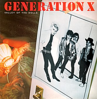 Valley of the Dolls (album) - Image: Generation X Valley Of The Dolls album cover