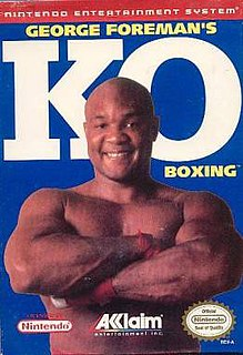 <i>George Foremans KO Boxing</i> 1992 video game