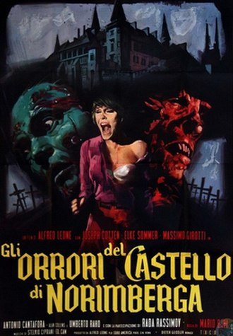 Baron Blood (film) - Italian theatrical release poster
