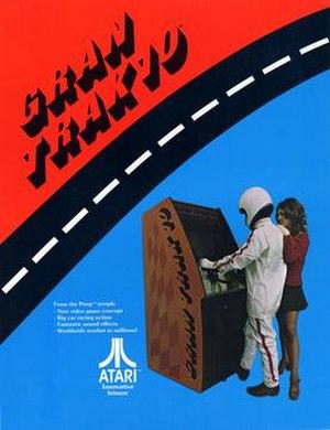 Gran Trak 10 - Image: Gran Trak 10 1974 Flyer