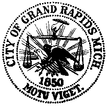 Official seal of Grand Rapids, Michigan