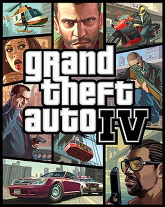 Grand Theft Auto IV - Image: Grand Theft Auto IV cover