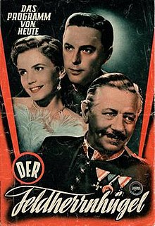 <i>Grandstand for General Staff</i> (1953 film) 1953 film by Ernst Marischka