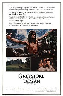 <i>Greystoke: The Legend of Tarzan, Lord of the Apes</i> 1984 film by Hugh Hudson