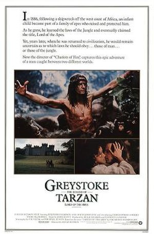 Greystoke: The Legend of Tarzan, Lord of the Apes - Theatrical release poster