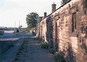Grimsargh railway station - Image: Grim 001