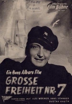 Große Freiheit Nr. 7 - Image: Große Freiheit Nr. 7 poster