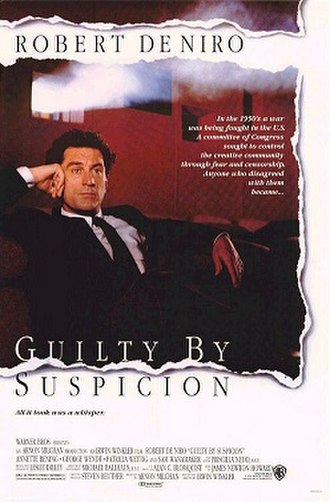 Guilty by Suspicion - Promotional movie poster for the film