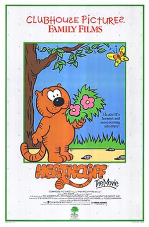 Heathcliff: The Movie - Theatrical release poster