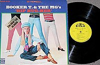 Hip Hug-Her by Booker T. & The MG's (1967), showing the two different Atlantic era Stax logos