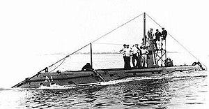 A-class submarine (1903) - Image: Hms a 1 submarine