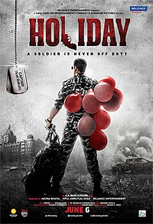 Holiday: A Soldier Is Never Off Duty (2014) DM - Akshay Kumar, Sonakshi Sinha, Govinda, Aanchal Singh, Dipendra Sharma, Freddy Daruwala