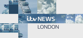ITV News London - The ITV News London title card with a close-up of the London Eye.