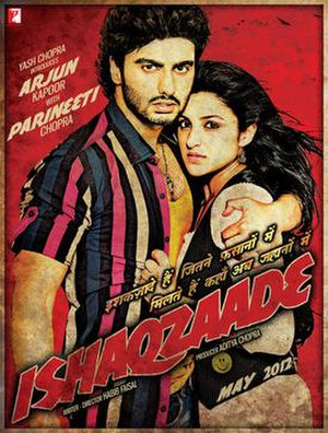 Ishaqzaade - Theatrical release poster
