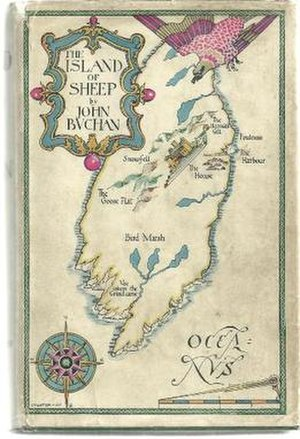 The Island of Sheep - First edition cover