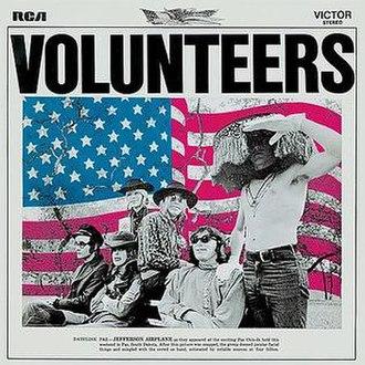 Volunteers (Jefferson Airplane album) - Image: Jefferson Airplane Volunteers (album cover)