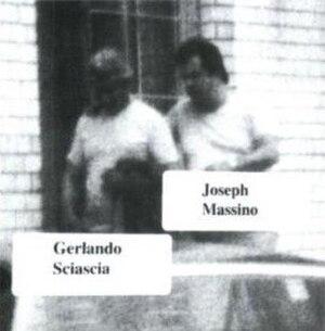 Gerlando Sciascia - FBI surveillance photograph of Gerlando Sciascia and Joseph Massino