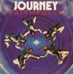 """Faithfully (song) - Image: Journey """"Faithfully"""" Single Cover"""