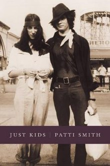 Just Kids (Patti Smith memoir) cover art.jpg