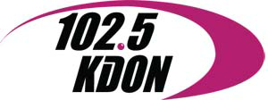 KDON-FM - KDON's previous logo used from September 2010 until May 20th, 2014