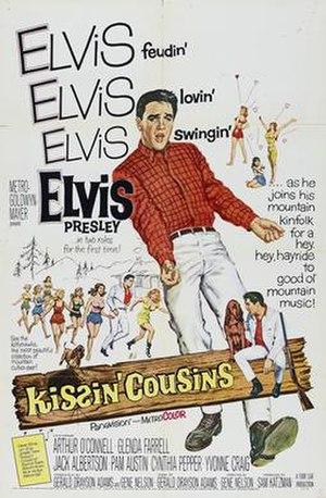 Kissin' Cousins - Image: Kiscousposter
