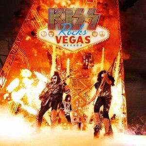 Kiss Rocks Vegas - Image: Kissrocksvegasdvdcov er