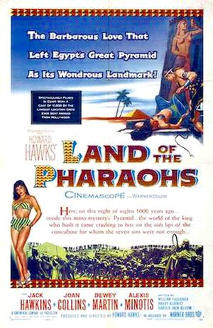 Land of the Pharaohs - Theatrical release poster