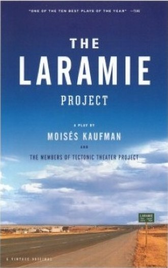 The Laramie Project - Cover of the published text