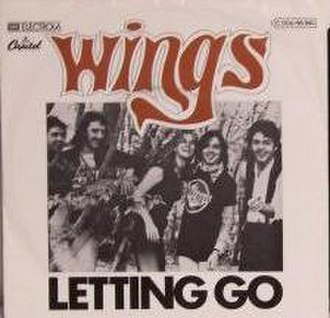 Letting Go (Wings song) - Image: Letting Go 45