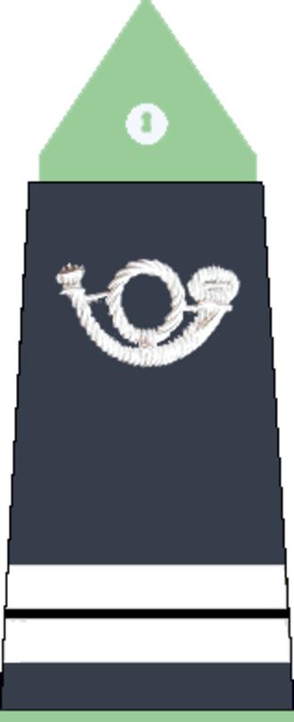 Lieutenant - Image: Lieutenant des Eaux et Forêts