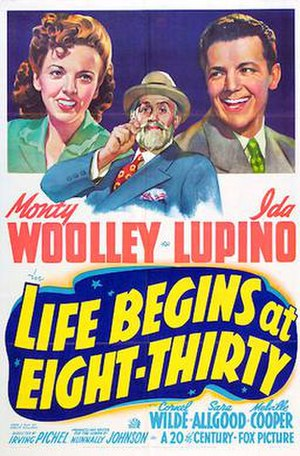 Life Begins at Eight-Thirty - 1942 Theatrical Poster