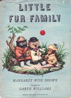 <i>Little Fur Family</i> book by Margaret Wise Brown