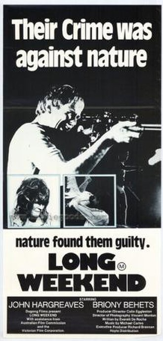 Long Weekend (1978 film) - Theatrical film poster