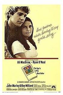 <i>Love Story</i> (1970 film) 1970 romantic drama film written by Erich Segal