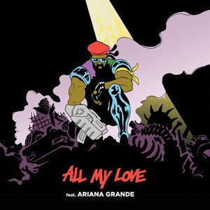 All My Love (Major Lazer song) - Image: ML AG AML