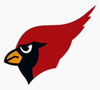 Metamora Township High School - The school's official logo, featuring a Redbird.