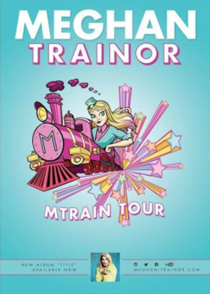 MTrain Tour - Image: M Train Tour Promotional Poster