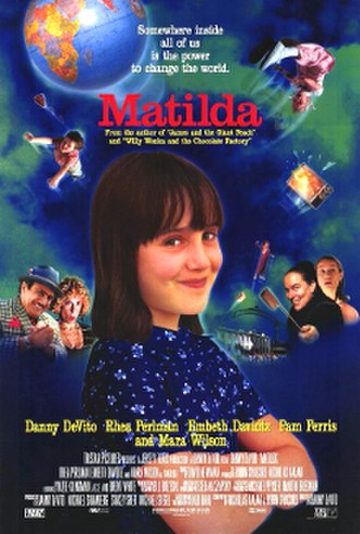 Matilda (1996 film) - Theatrical release poster