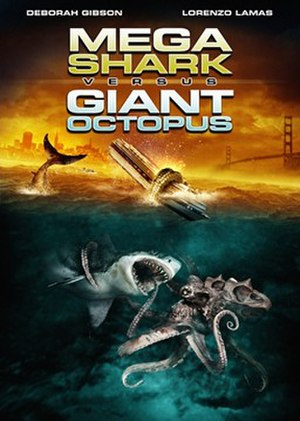 Mega Shark Versus Giant Octopus - DVD cover