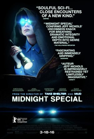 Midnight Special (film) - Theatrical release poster