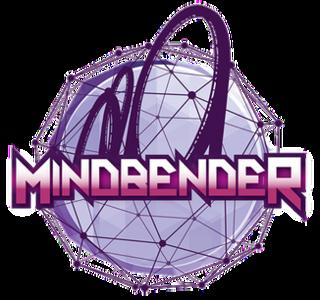 Mindbender (Galaxyland) roller coaster in West Edmonton Mall, Alberta, Canada