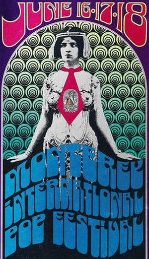 Monterey Pop Festival - Image: Monterey International Pop Music Festival poster