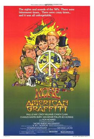 More American Graffiti - Theatrical release poster by William Stout