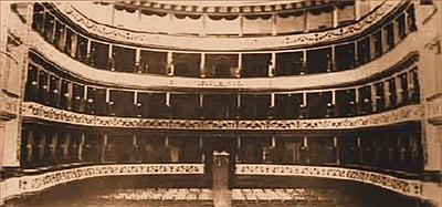 Municipal Theatre of Corfu interior