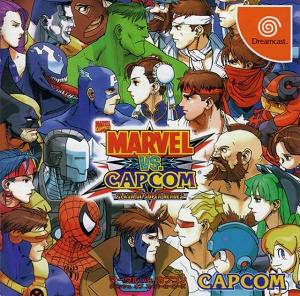 Marvel vs. Capcom: Clash of Super Heroes - Japanese Dreamcast cover art