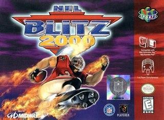 <i>NFL Blitz 2000</i> 1999 video game