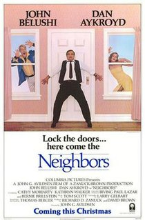 <i>Neighbors</i> (1981 film) 1981 American comedy film directed by John G. Avildsen