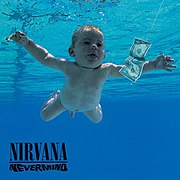 Nirvana's 1991 album Nevermind, the album that popularized alternative rock.