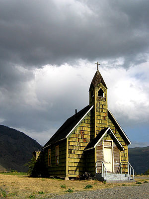Spences Bridge - Nlak'pamux Church