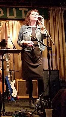 Nora O'Connor performing on 2018-10-30 at the Hideout in Chicago IL.jpg